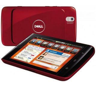 Dell Streak Mini 5 Unlocked Red Good Condition Smartphone