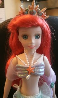 Disney 25th Anniversary Ariel 13 Porcelain Doll