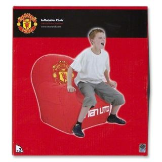 United Inflatable Chair Manchester United Football Red Devils