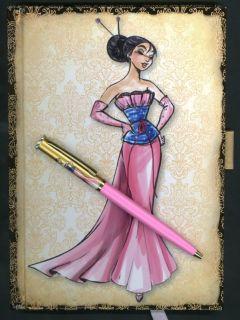 Disney Princess Designer Collection Mulan Journal with Matching