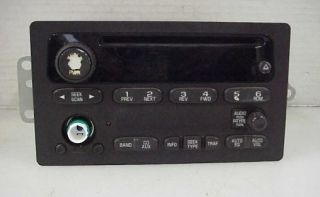 Delphi Delco Electronics GM Chevy CD Player Stereo Radio 151