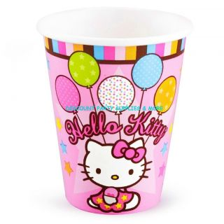 Hello Kitty Balloon Dreams Hot Cold Paper Cups