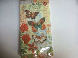 Rustic Butterfly Paper Guest Towel Napkin Use for Decoupage