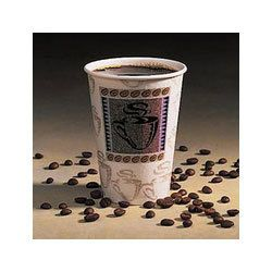 5356CD Coffee Design Insulated Hot Paper Cup 16 Ounce
