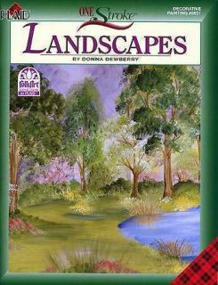 Acrylic Painting Pattern Book Landscapes Donna Dewberry