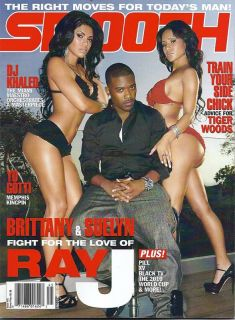 Smooth Magazine Ray J DJ Khaled Black TV 2010 World Cup