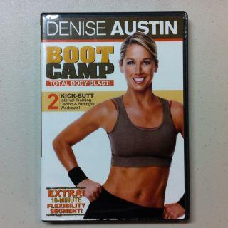 Denise Austin Boot Camp Total Body Blast Exercise DVD