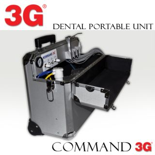PORTABLE DENTAL UNIT DELIVERY SYSTEM KOMMAND 3G WITH PORTABLE CHAIR