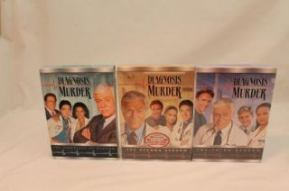 Diagnosis Murder The Complete First Second and Third Seasons DVD New