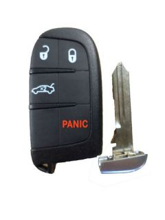 Remote Fobik Emergency Key Fob Blade Replacement Push to Start Insert