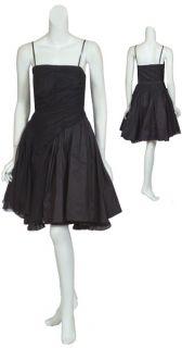Voluminous Didier Ludot Black Lace Dress $3750 8 New