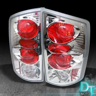 02 06 Dodge RAM Pickup Truck Clear altezza Tail Lights Lamps Left