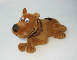 Scooby Doo Nodding Moving Bobble Head Dog Golden Toy