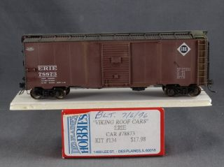 DTD HO Scale Imwx Des Plaines Hobbies Weathered 40 Box Car Erie 78873