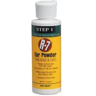 Control Odor Dry Ear Care Powder Dog Cat Pet Puppy 12 Grams