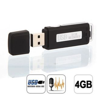 Spy Pen Drive Digital Audio Voice Recorder 70 Hours