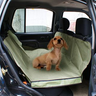 Army Green Cradle Dog Car Seat Cover Pet Mat Blanket