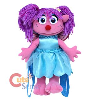 Sesame Street Abby Cadabby Plush Doll Backpack Plush Figure Bag 15