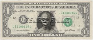 Sam Langford Dollar Bill Mint Real $$ Celebrity Novelty Collectible