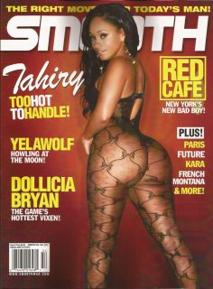 2012 SMOOTH Magazine DOLLICIA BRYAN Paris Kara TAHIRY Issue #54 Brand