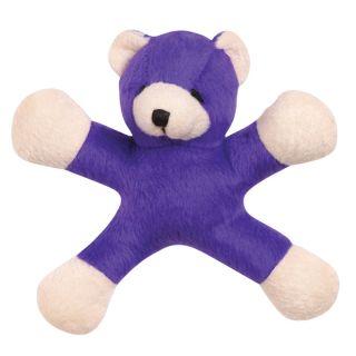 PC Set Grriggles 5 Teddy Jacks Plush Small Dog Toys 4 Pack Lot