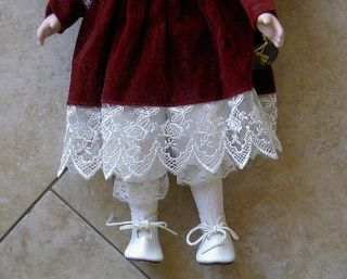 Brinns Collectible Porcelain Doll Peggy 1991 with Box