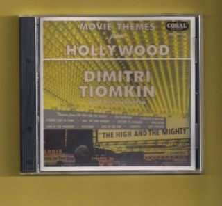 MOVIE THEMES FROM HOLLYWOOD DIMITRI TIOMKIN VERY RARE COLLECTOR ITEM
