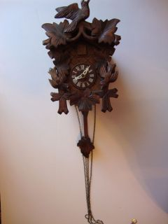 DOLD Exquisit Black Forest German Cuckoo clock