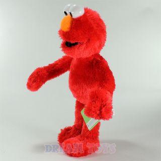 Sesame Street Muppets Elmo 14 Fuzzy Plush Doll Stuffed Figure Med