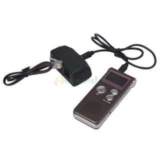 R30 650Hr Digital Voice Recorder with U Disk Function Red Wine