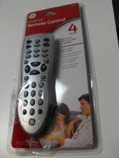 GE Universal 4 Device Remote Control Model 24914