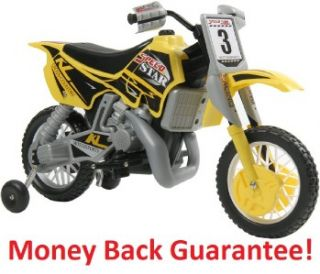 Kalee Dirt Bike Motorcycle Electric Ride on Toy Car for Kids Toddler