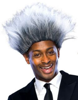Adults Don King Boxing Promoter Halloween Costume Wig