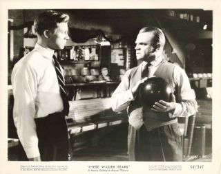James Cagney Don Dubbins These Wilder Years Orig 56