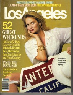 Donna Dixon Los Angeles Magazine 5 88 Great