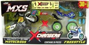 MXS Changers Dirt Bike Toys Blue