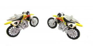 Yellow and Black Motocross Dirt Bike Extreme Sports x Games Racing