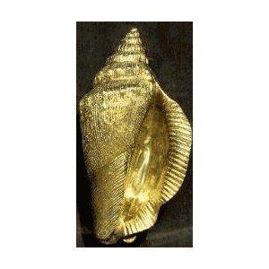 Mayer Mill Brass Conch Shell Door Knocker