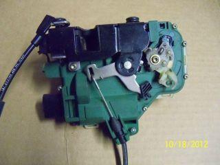 Golf Beetle Passat Driver Front Door Lock Module 3B1 837 015 AK