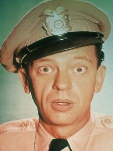 Mayberry Barney Fife Don Knotts DVD TV Funny T Shirt