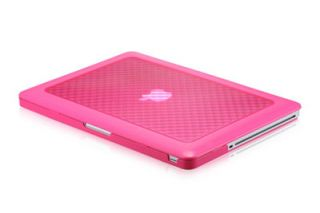 Osaka Diamond Series TPU Hot Pink Case Cover for MacBook Pro 13 13 3