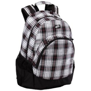 Vans Off The Wall Van Doren Backpack Plaid Black White Red Christmas