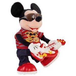Fisher Price Disney Interactive Rockstar Mickey with Guitar New