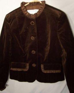 New Doncaster Sport Sz 10 Black Velvet Jacket Rtl $299