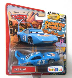 DISNEY PIXAR CARS RADIATOR SPRINGS CLASSIC   THE KING #43   RARE!