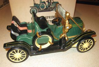 VINTAGE 1971 DOUBLE SPRINGS 1911 STANLEY STEAMER DECANTER BOX GREAT