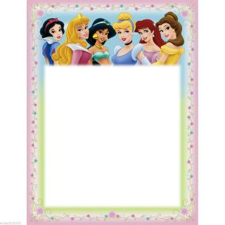 Disney Princess Printable Invitations Birthday Party Supplies