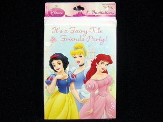 Disney Princess Birthday Invitations Party Supplies Snow White