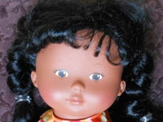 RARE 14 Corolle Doucette Cocoa Doll Black Hair African American Nice