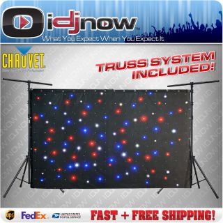 LED Sparkle Drape DJ Backdrop Lighting Truss System